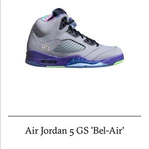 "best service e2731 01738 Air Jordan Retro 5 ""Bel Air"" (GS) Size 7"